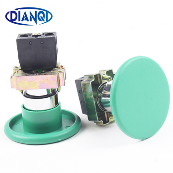 DIANQI Ten suits XB2 BR31 XB2-br31 mushroom head button push button switch 60mm momentary