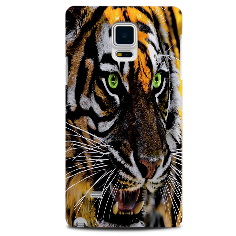 Fashional Sublimation Phone Cases For SAMSUNG NOTE 4 with Cool Animal Design, Personal Customised Protective Covers-in Half-wrapped Case from Cellphones ...