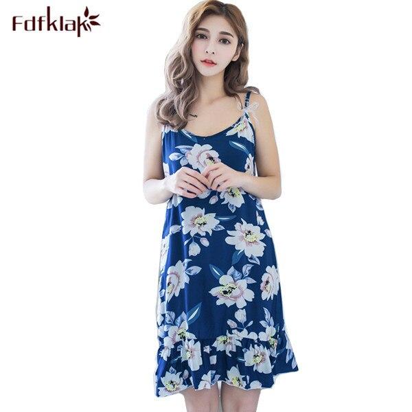Sommer Sexy Koreanische Nacht Kleid frauen Nachthemd Nachtwäsche ...