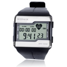 Hot!!! TOP Fashion Heart Rate Monitor Men Sports Watches Wat