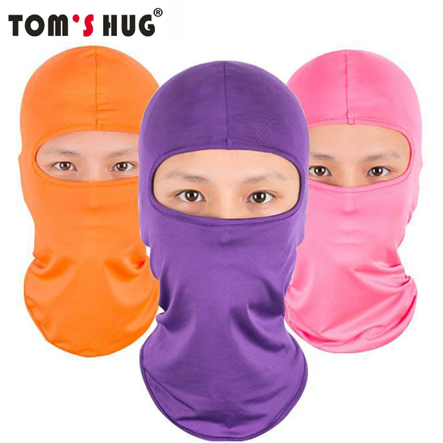 Toms Hug Windproof Motorcycle Cycling Full Face Mask Ski Neck Protecting Outdoor Balaclava Face Mask Ultra Thin Breathable