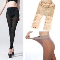 Hot Plus Cashmere Leggings Girls Casual Warm Winter Faux Velvet Knitted Thick Slim Woman Pants Super
