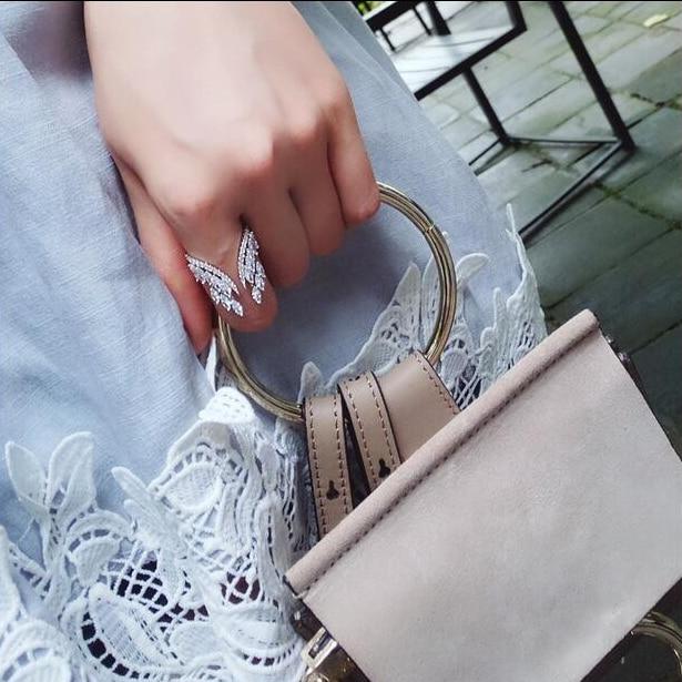 Trendy Women's Jewelry Cubic Zircon Butterfly Wings Adjustable Rings For women wedding Party Open Ring CRP188E