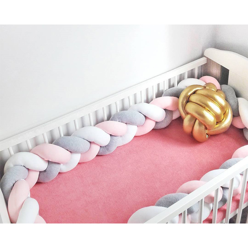 Bedding Accessories Denmark Knits Long Knot Ball To Embrace Pillow Sofa Creativity Concise Children Room Decoration crib