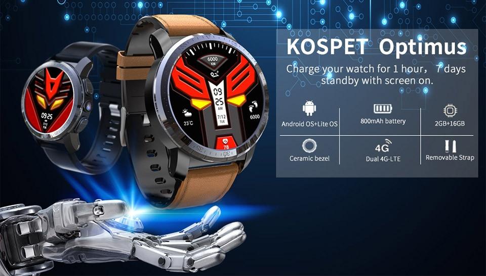Kospet Optimus&Optimus Pro 2+16