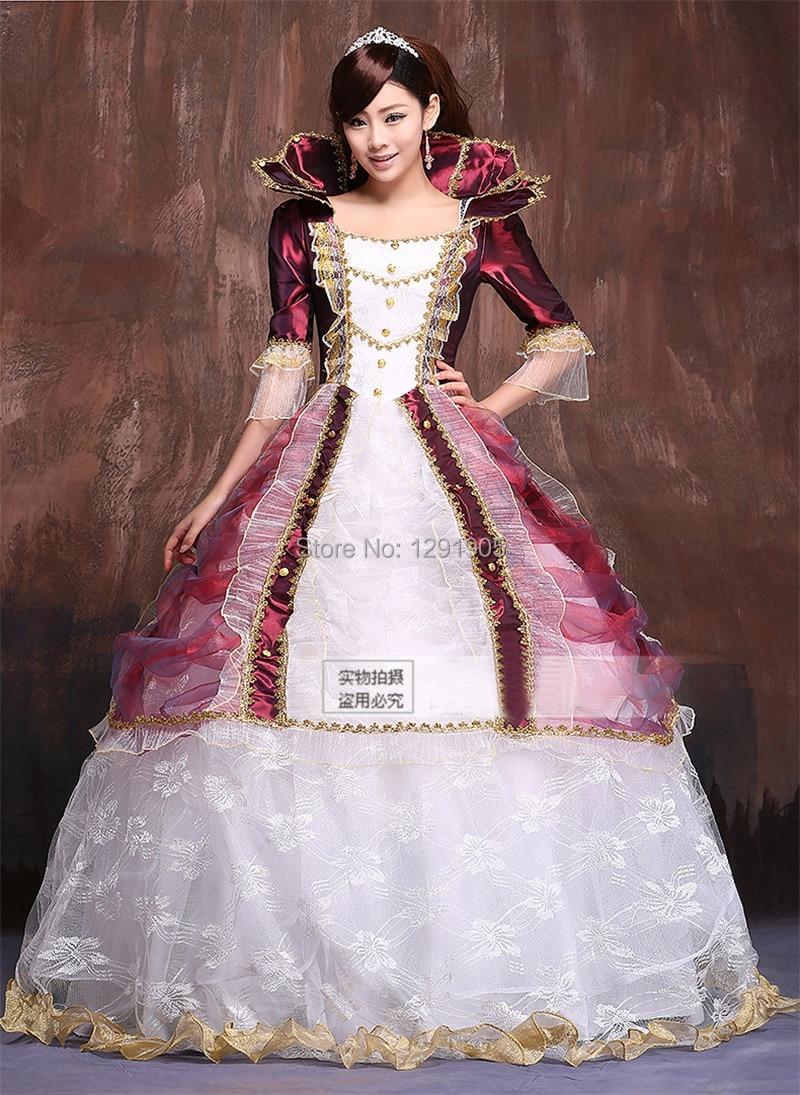 Victorian Ball Gown Queen Size