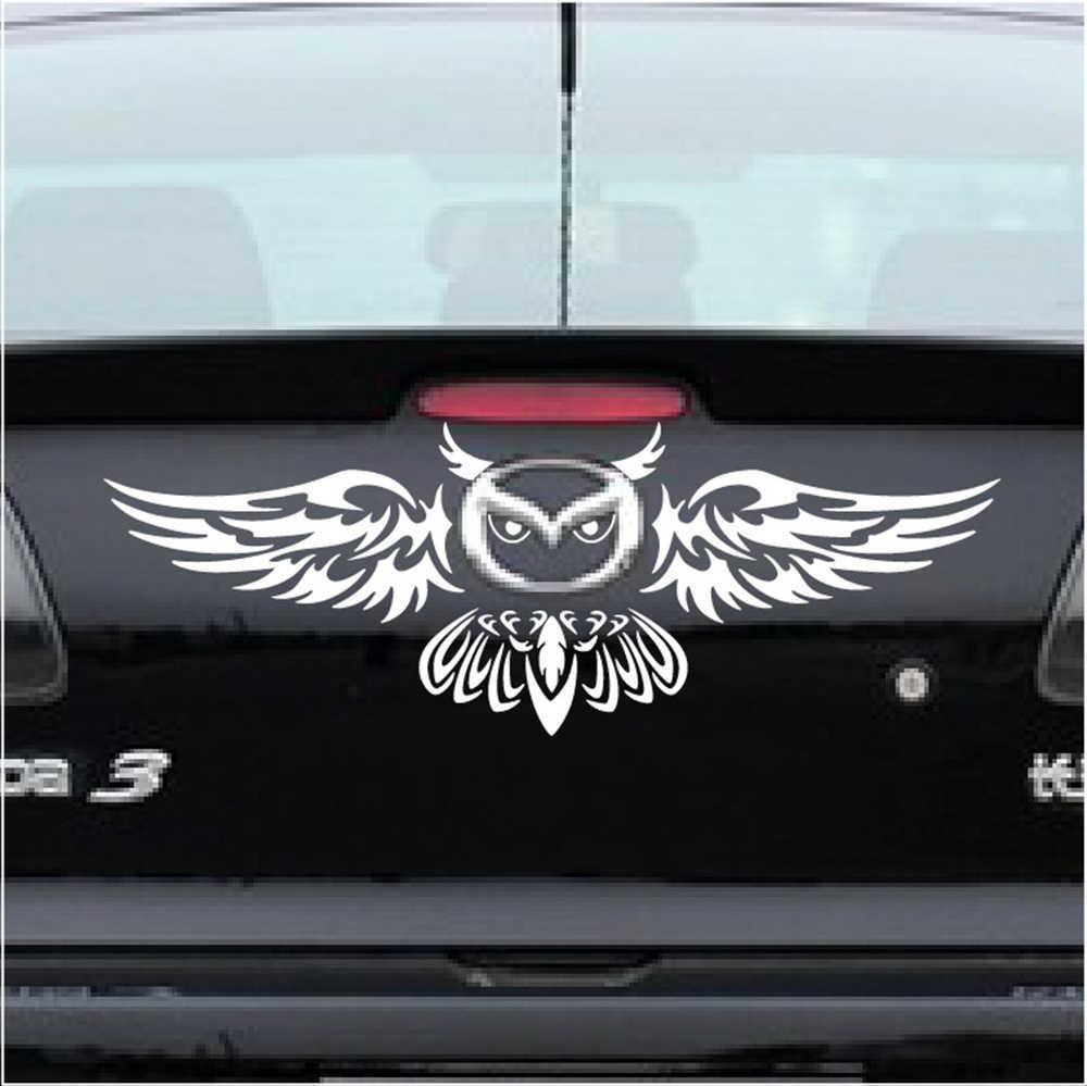 Aliauto автомобиль-Стайлинг забавные Стикеры для автомобиля и наклейка Сова Средства для укладки волос Mazda 2 3 5 6 CX-3 CX-5 CX-7 mx 5 mx7 Angkesaila