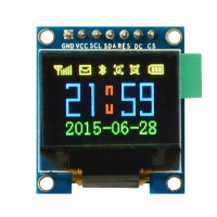 Free Shipping 0 95 Inch 7pin Full Color 65K Color Ssd1331 OLED Display 3 3v 5v