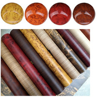 Car Styling 30 400cm High Glossy Wood Grain Textured Vinyl Sticker Decal Roll Car Interior DIY