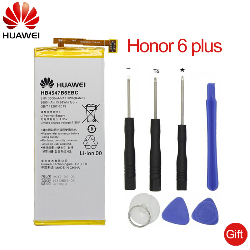 Cellphones & Telecommunications Aggressive Hua Wei Original Replacement Phone Battery Hb4547b6ebc For Huawei Honor 6 Plus Pe-tl20 Pe-tl10 Pe-cl00 Pe-ul00 3500mah