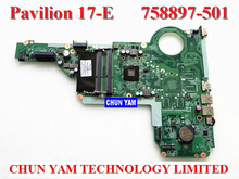 NEW LAPTOP NOTEBOOK MOTHERBOARD SYSTEM BOARD 758897-501 FOR HP PAVILION TS 15 17 15-E 17-E AMD A4-5000M SERIES 90DAYS WARRANTY