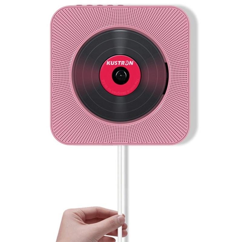 2019 Nieuwste Ontwerp Kustron Wandmontage Bluetooth Cd-speler Bluetooth Audio Speaker Prenatale Onderwijs Vroege Onderwijs Hifi Luidspreker Usb Drive Versterkende Taille En Pezen
