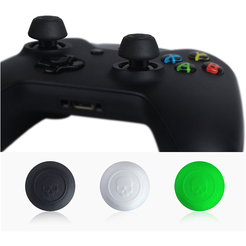 Silicone Analog Grips Thumb Stick Caps Cover For Xbox One Controller Skull & Co. CQC Elite Thumbstick Cover For Xbox One Gamepad gamepad xbox wlc