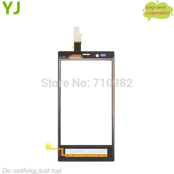 5 pieces/lot HK free shipping High quality 100% Tested Digitizer Touch Screen for Nokia Lumia 720