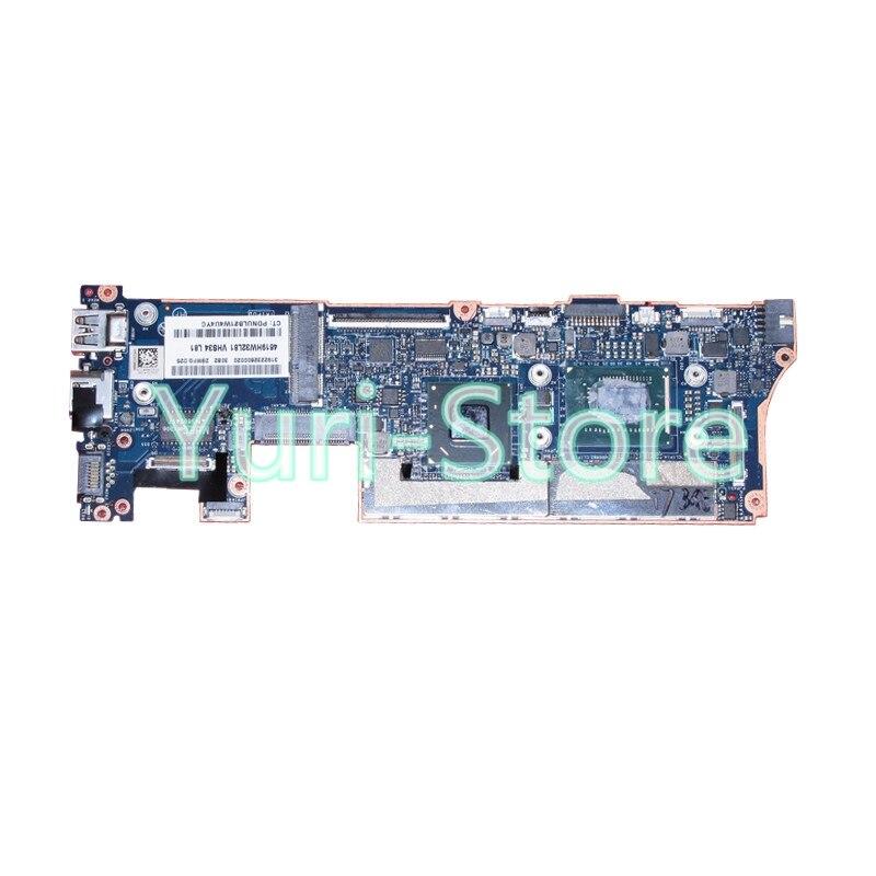 NOKOTION for HP Spectre XT13 XT 13-2000 laptop motherboard 714758-501 VCU01 LA-8554P 7-3537U 4gb ram on board