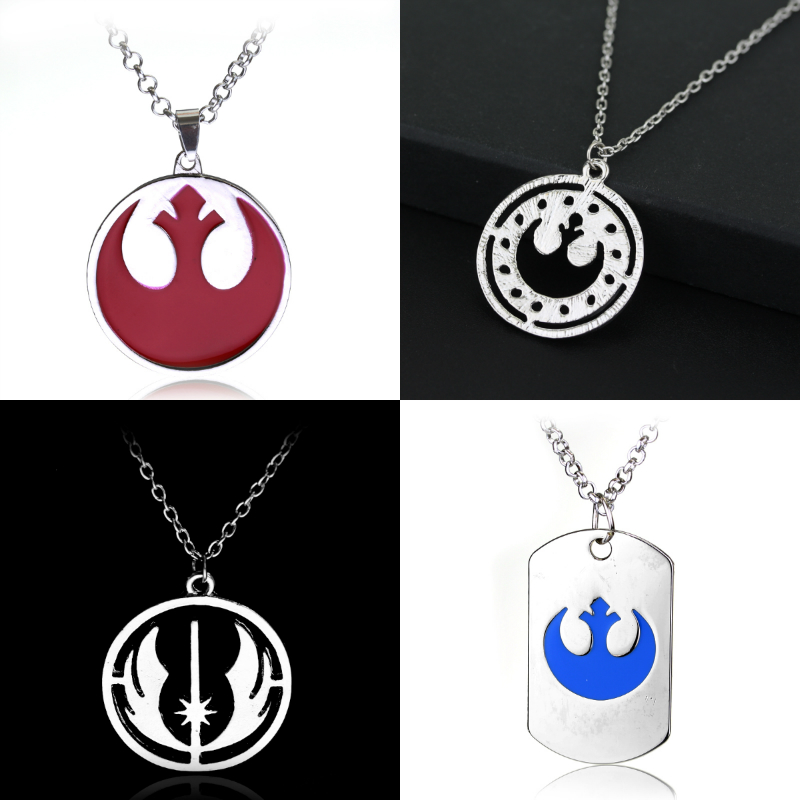 Star Wars Rebel армии Alliance starbird Цепочки и ожерелья S Подвески посеребренные цепочки Цепочки и ожерелья