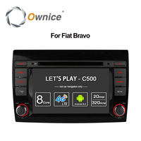 Ownice C500 Android 6.0 Octa Core for Fiat Bravo 2007 2012 Car DVD Player Radio with GPS Bluetooth 4G 1024*600 2GB RAM 32GB ROM