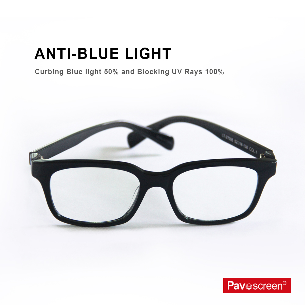 2c63f37cc1 Pavoscreen Anti Blue Rays Computer Goggles Gaming Glasses With Box 100%  UV400 Radiation-resistant PC Reading Eyewear