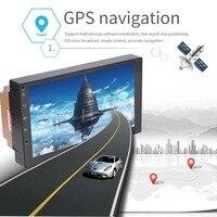 Wholesale 20 units Smart Car Android 7.1 MP5 Player quad core GPS navigation Super slim 7inch tablets multimedia FM Mirror link
