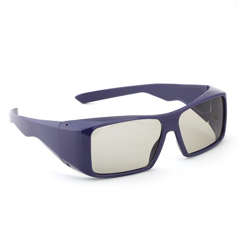 Free shipping Passive 3D <font><b>Glasses</b></font> for <font><b>RealD</b></font> 3D Cinemas and LG Passive 3D TV Circular Polarized 3D VR <font><b>Glasses</b></font>