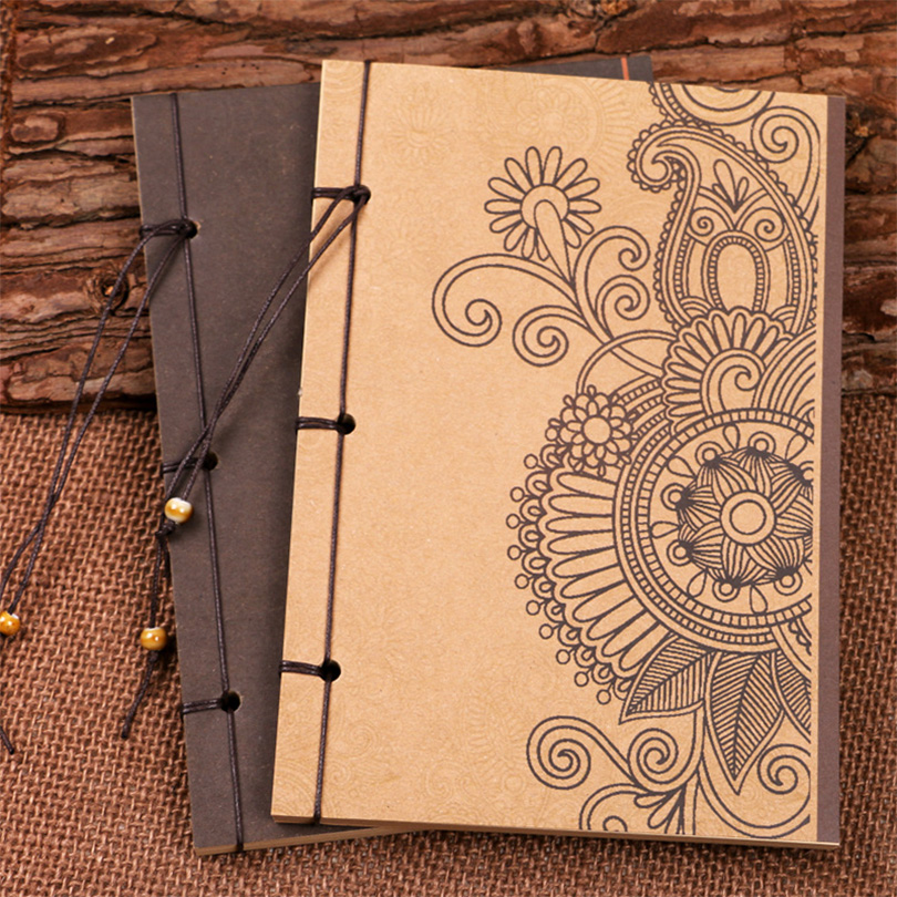 Creative Notebook Cover : Notebook vintage school diary creative stationery