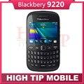 Abierto original 9220 de blackberry curve 9220 wi-fi qwerty 2mp 3g teléfono envío libre 1 año de garantía reformado