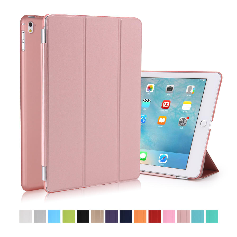 Case For Ipad Pro 9.7 Inch Smart Cover With Trifold Stand Magnetic Auto Wake Tablet Case For Ipad Pro 9.7 Inch