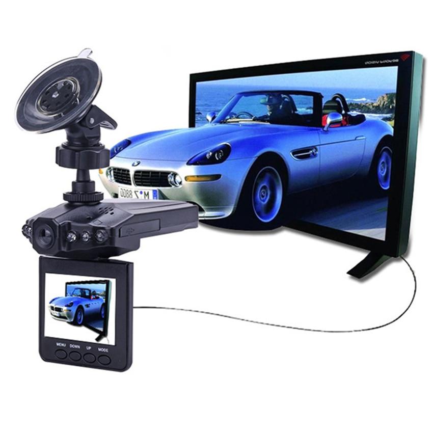 DVR Vehicle-Camera Video-Recorder Dash-Cam Ir-Light Road-Dash Black 270 LED Whirl Degrees