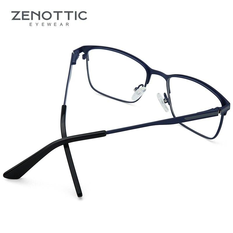 Optische 003 Männer 001 Brillen 004 Platz blau Anti 002 Legierung 2019 Photochrome Hyperopie Myopie Männlichen ray Zenottic BZtqIwq