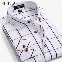 High Quality 100 Cotton Custom Men Business Work Shirts Casual Soft Dress Shirt Slim Fit Men