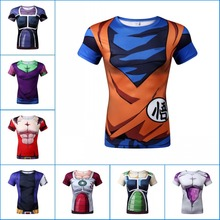 Dragon ball DBZ Casual T-shirts