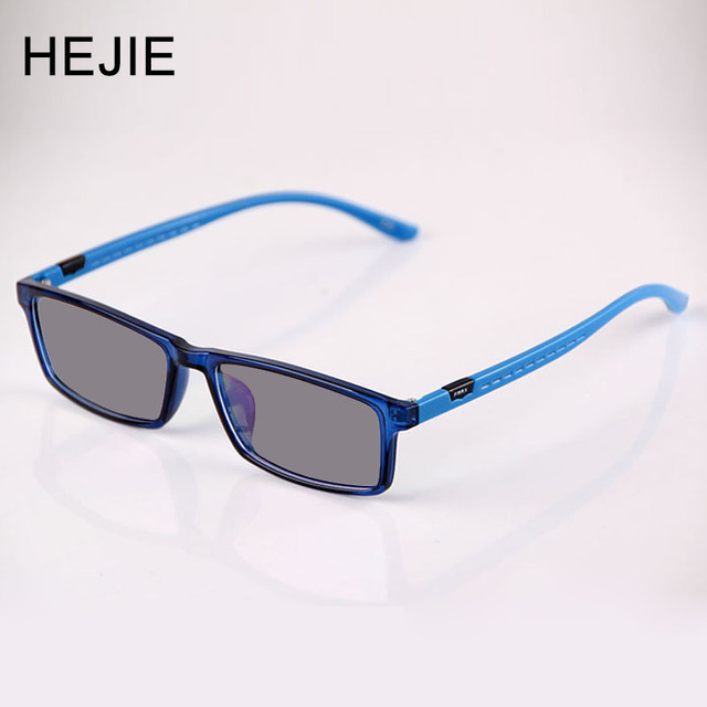 6a9c57eed2f HEJIE Unisex TR90 Photochromic Myopia Reading Glasses Anti-scratch Lens  Diopter+0.25-+