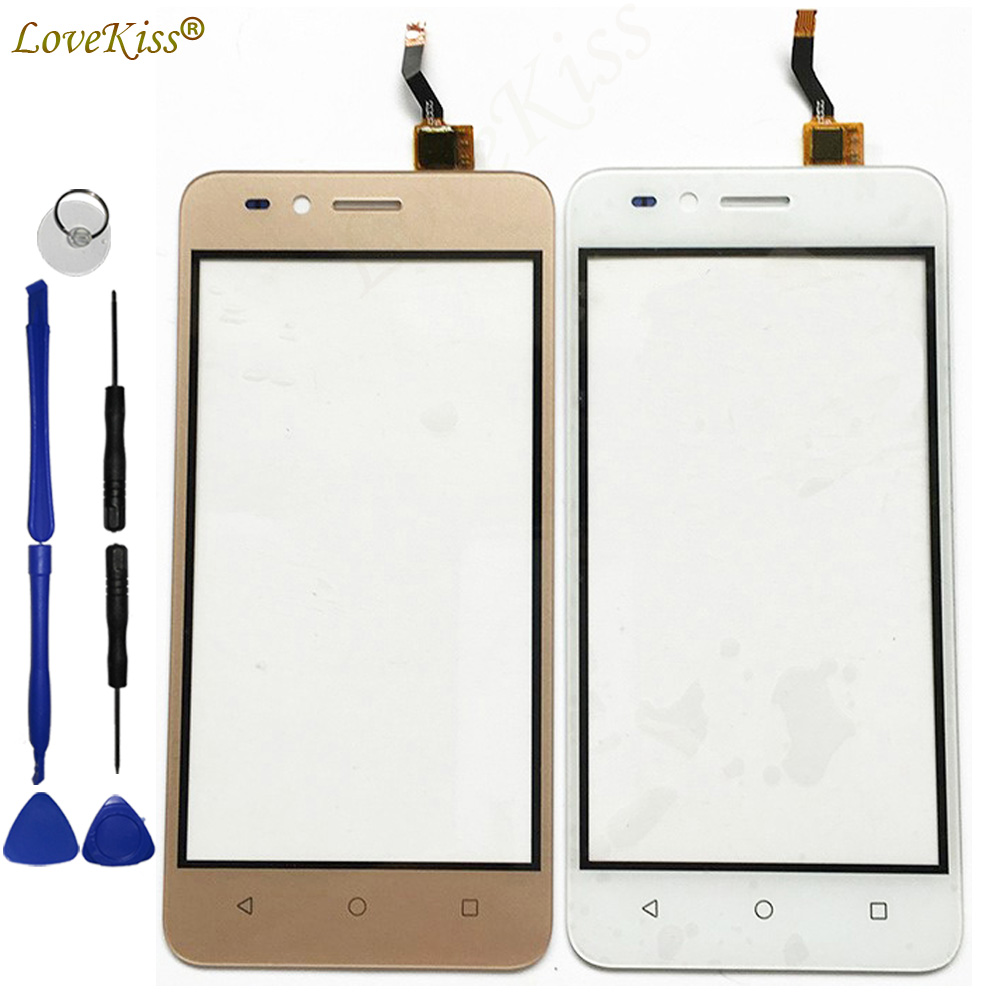 Y3II Front Panel For Huawei Y3 II 2 LUA-L21 LUA-L13 LUA-U23 Touch Screen Sensor LCD Display Digitizer Glass Cover TP Replacement