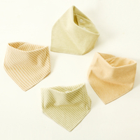 Baby Bibs 100% Natural Organic Cotton Babadores Para Bebe Infant Saliva Towel For Boys And Girls all chirdren's necessary