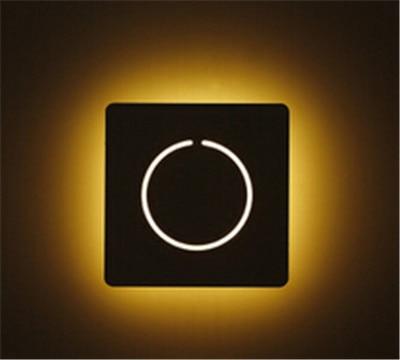 hedendaagse korte acryl wandlamp wit led nachtkastje gangpad licht