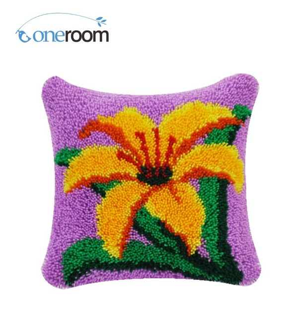 Yellow flower rug images flower decoration ideas yellow flower rug images flower decoration ideas 4thbz517 yellow flower 4thhook rug kit pillow diy unfinished mightylinksfo