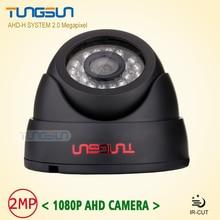 Home HD 3000TVL Video Surveillance 2MP AHD Indoor Mini Black Dome infrared Security 1080P CCTV Camera Free Shipping