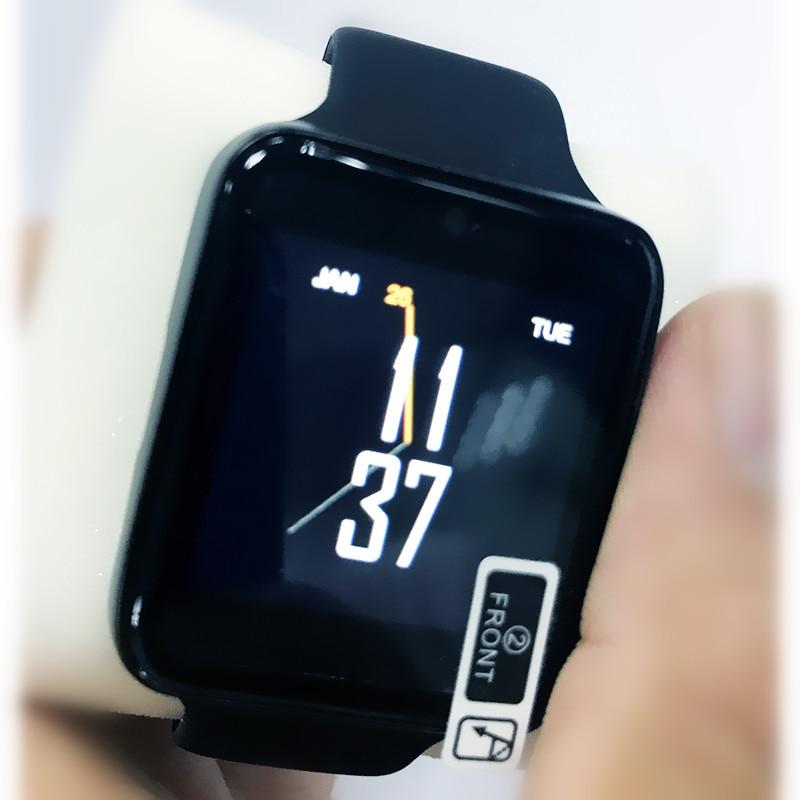 TROZUM Bluetooth Montre Smart Watch LF07 SmartWatch pour Apple IPhone IOS Android Smartphones Ressemble à Apple Montre Reloj Inteligente