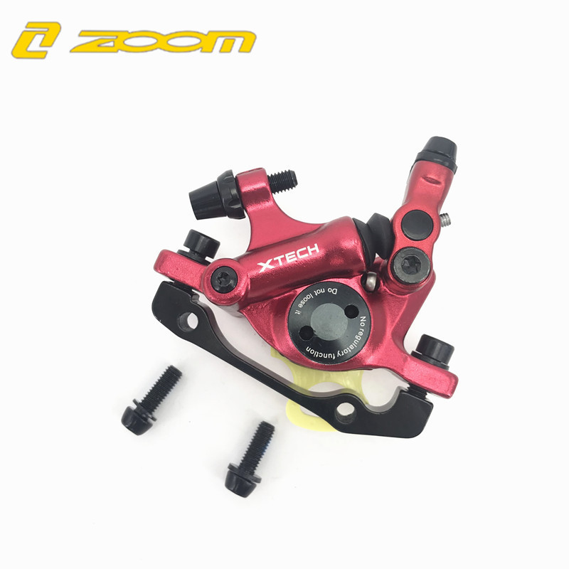 ZOOM MTB Road Hydraulic Disc Brake Calipers Front Rear Mountain MTB Bike Disc Bicycle Accessories Free Shipping in Bicycle Brake from Sports Entertainment
