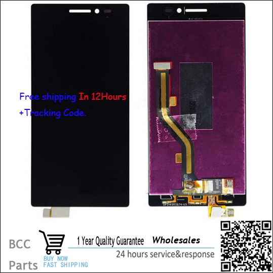 Original quality Test OK LCD Display +Touch Screen Digitizer Assembly For Lenovo Vibe X2 X2-TO X2-CU Black Free Shipping+track vibe x2 lcd display touch screen panel with frame digitizer accessories for lenovo vibe x2 smartphone white free shipping track