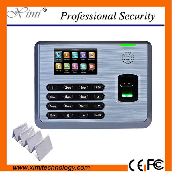 Linux System Tx628/Id 125Khz Rfid Card Reader TX628 Time Attendance Biometric Machine