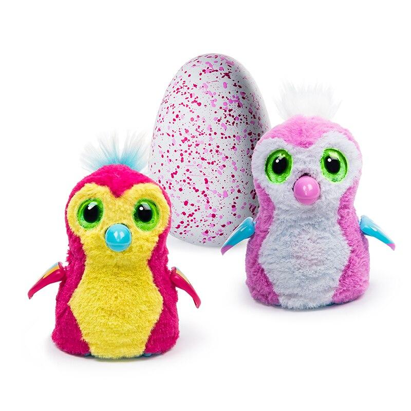 Hatchimals Rosa mágica huevos inteligente interactivo electrónico rompecabezas mascota brillante Draggle juguetes niño niña juguete mágico regalo