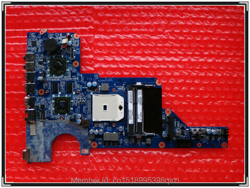 649950 001 DA0R23MB6D1 for Pavilion G4 G6 G7 font b laptop b font motherboard HD6470 1G