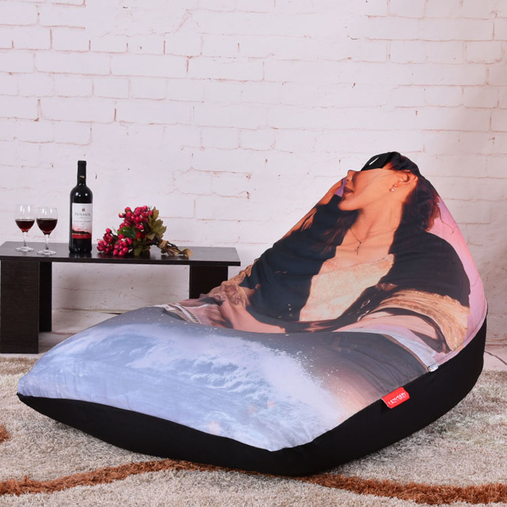 Levmoon Beanbag Sofa Chair Titanic Seat Zac Comfort Bean Bag Bed
