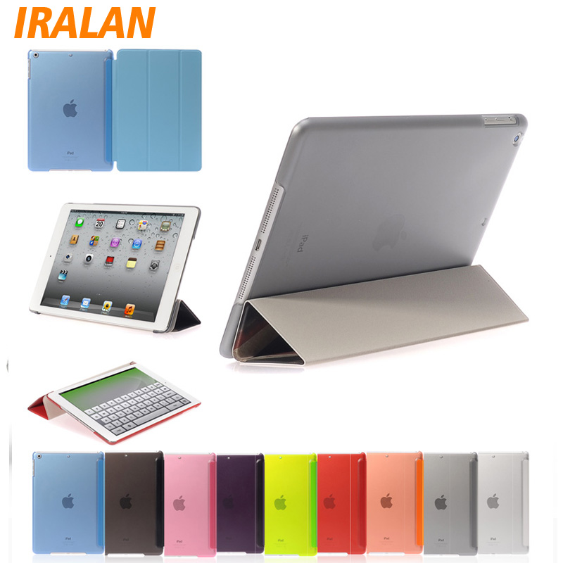 Ultra Thin Silk Magnetic PU Leather Design Smart Case For iPad Air 2 Tablet Slim Cover ultra thin smart flip pu leather cover for lenovo tab 2 a10 30 70f x30f x30m 10 1 tablet case screen protector stylus pen