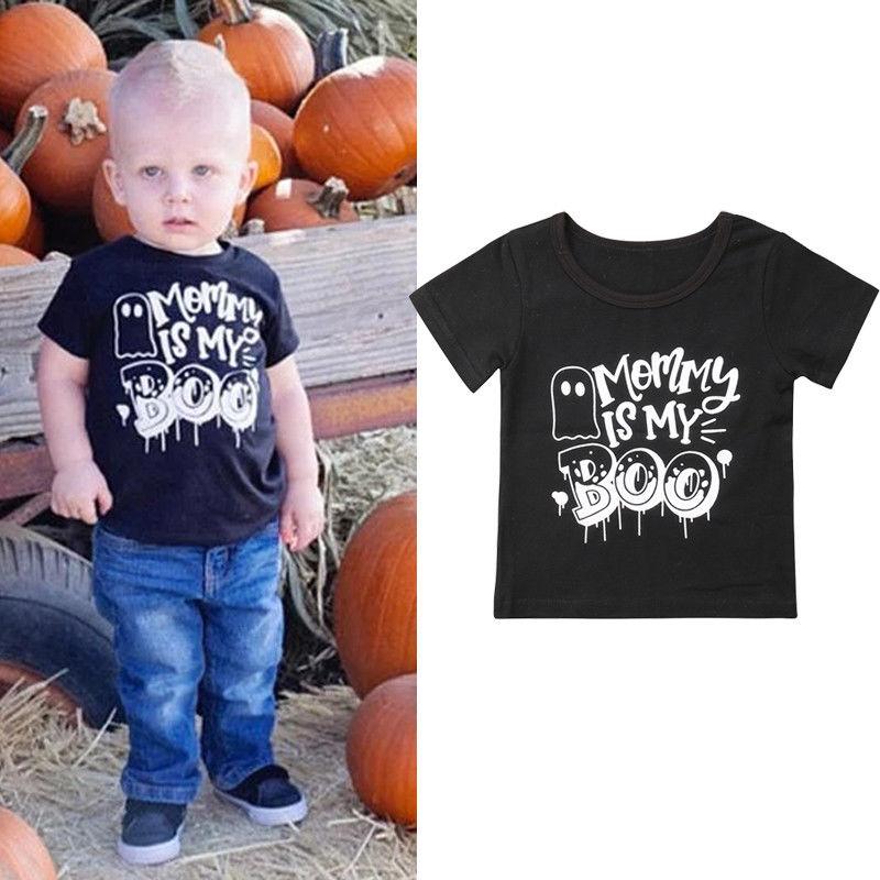 1-6 T Halloween Kinder Kleidung Baby Jungen T-shirt Baumwolle Kurzarm Casual Tops T Kleidung Kinder Infantil Kostüm Für Kinder Gesundheit Effektiv StäRken