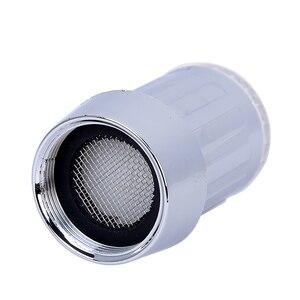 Image 4 - LED Water Kraan Streamen Licht 7 Kleuren Veranderen Glow Shower Tap Hoofd Druk Sensor Badkamer Temperatuur Keuken Accessoires
