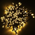 22M Solar Powered LED Fairy Light 200 LED String Light Christmas Tree Lights Party Wedding Outdoor Decoration