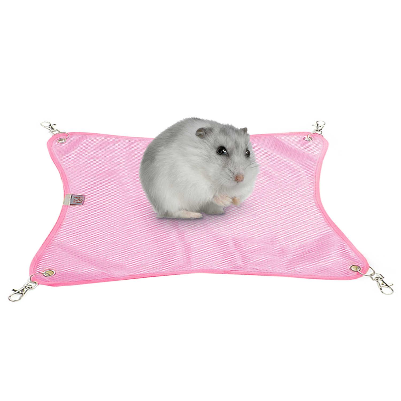 38X38 Cm Hewan Peliharaan Kain Mesh Bernapas Kandang Kursi Hammock Ayunan Tempat Tidur Tikar untuk Percobaan Chinchilla Hamster puppy Kitten