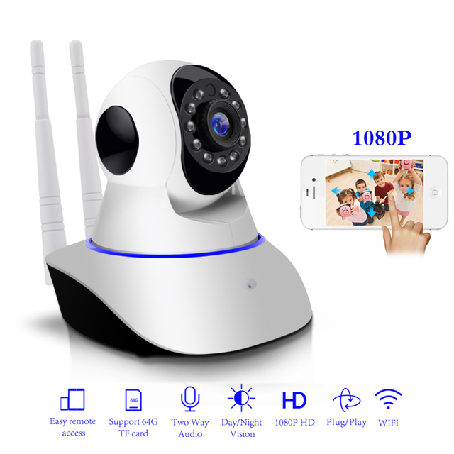 1080P IP Camera Wireless Home Security IP Camera Surveillance Camera Wifi  Night Vision  Baby Monitor  CCTV Camera 1920*1080
